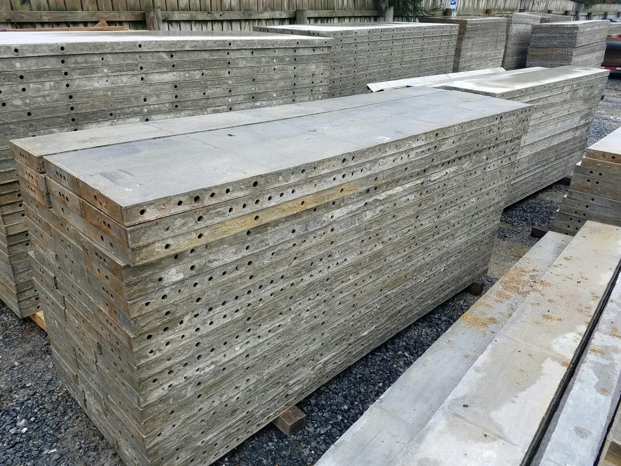 Set of precise panels grade b condition concrete